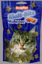 Beaphar Kitty's Malt Bits - Przysmak z Malt Pastą dla kotów 150 g