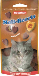 Beaphar Malthearts - Przysmak w kształcie serduszek z Malt Pastą dla kotów 150 tabletek
