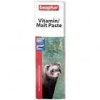 Beaphar Multi-Vitamine / Malt Paste -   - Multiwitaminowa pasta o podwójnym działaniu dla fretek