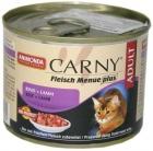 Animonda Carny Adult Rind+Lamm - Karma mokra dla kotów z wołowiną i jagnięciną 200g