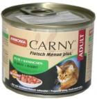 Animonda Carny Adult Pute+Kaninchen - Karma mokra dla kotĂłw z indykiem i krĂłlikiem 200g
