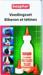 Beaphar Nursing Set - Zestaw do karmienia młodych zwierząt
